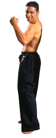 Warrior Black Pants – DRAWSTRING