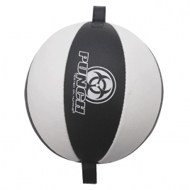 Urban Floor To Ceiling Ball With Straps LEATHER
