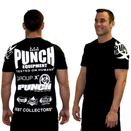 Mens Punch Sponsorship T-Shirt