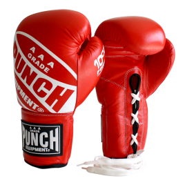 Competition Boxing Gloves – Lace Ups