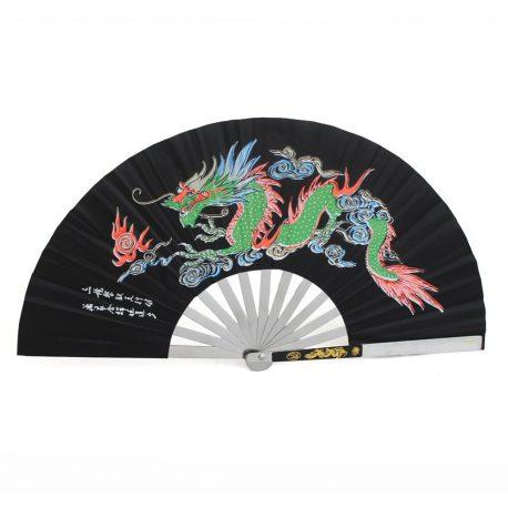 Black Fan coloured dragon