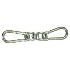Bag Swivel With Snap Hooks