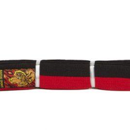 """Rising Sun Belt – Red/Black """"Poomse"""""""