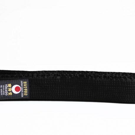 tokaido_cotton_black_belt
